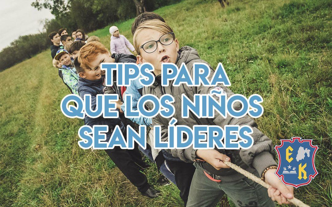 Tips para que los niños sean líderes