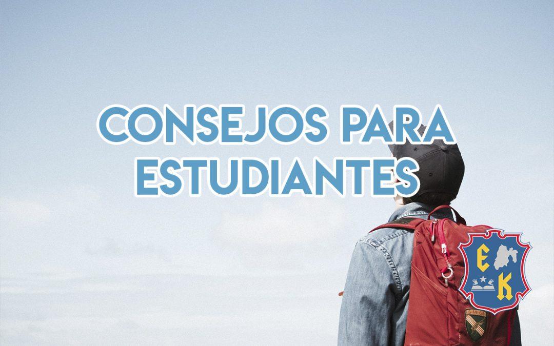 Consejos para estudiantes