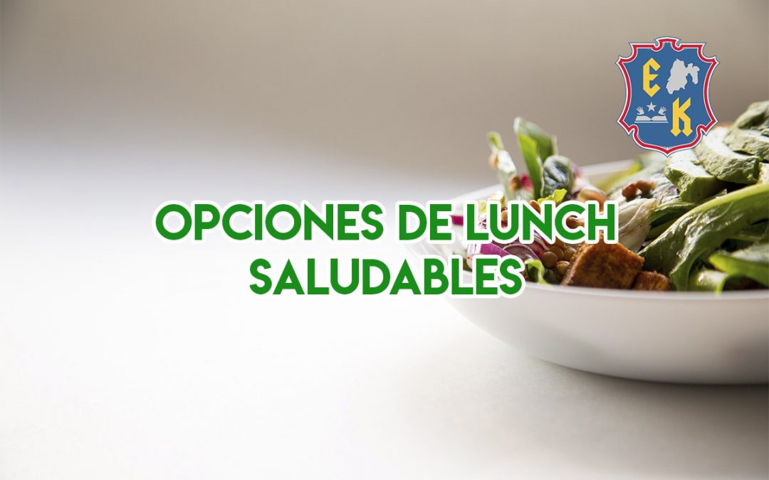 Opciones de lunch saludables