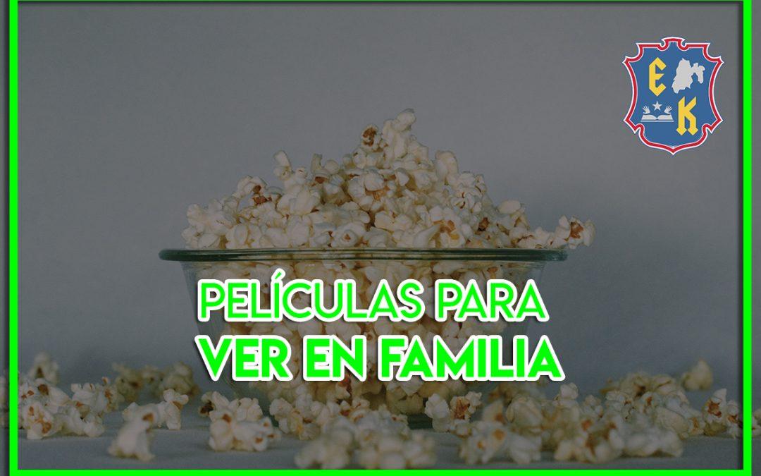 Películas para ver en familia con los niños