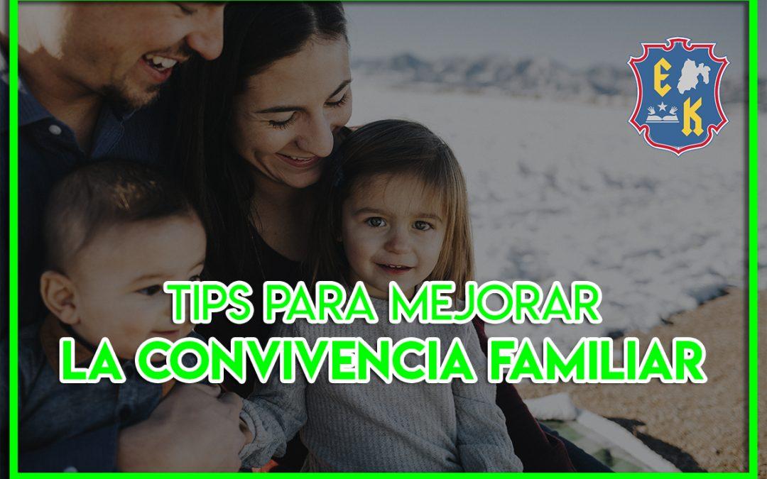 Tips para mejorar la convivencia familiar