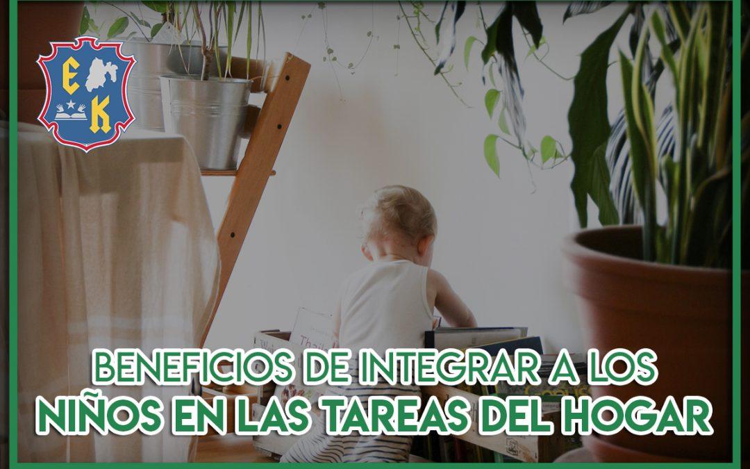 Beneficios de integrar a los niños en las tareas del hogar